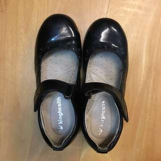 King health black shoes size 32