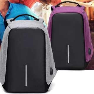 防盜USB充電背囊 背包
