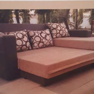 Sofa L Bed Bisa Kredit Promo DP 0%