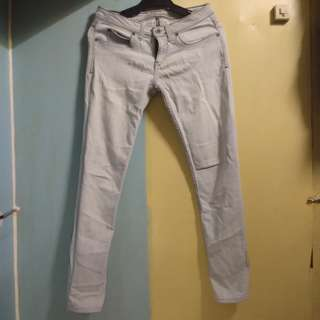 Jag White Denim Pants