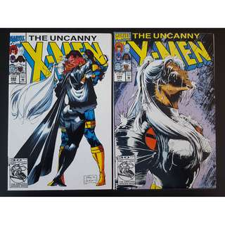 Uncanny X-Men #289 & #290 (1992 1st Series)-Set Of 2, By Whilce Portacio and Scott Williams!
