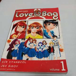Anime Book ( Love is in the Bag Vol. 1)