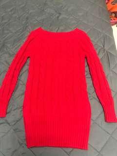 🚚 長版針織連身裙