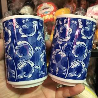 Ceramic cups from japan set of 2