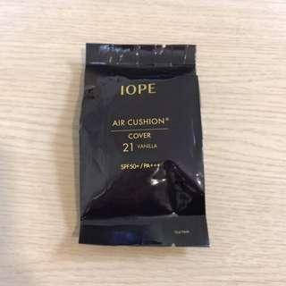 🚚 (全新)IOPE 水潤光透氣墊粉底-貝彩升級版 輕盈遮瑕款 21色號