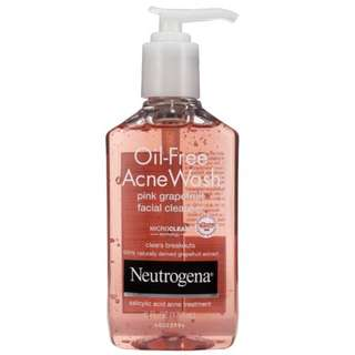 Neutrogena Oil-Free Acne Wash Pink Grapefruit Edition 175ml