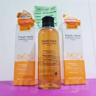 NATURAL PACIFIC Fresh Herb Calendula Tintcure Toner (200ml)
