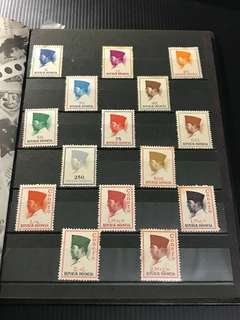 Indonesia Stamp Set of 25