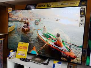 Sony LED TV 65incs bisa kredit