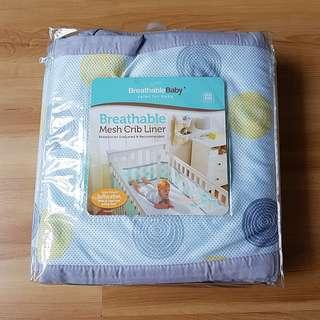 Breathable Crib Mesh / Cot bumper mesh