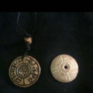 {FS138} Nepal Animal Bone Amulet
