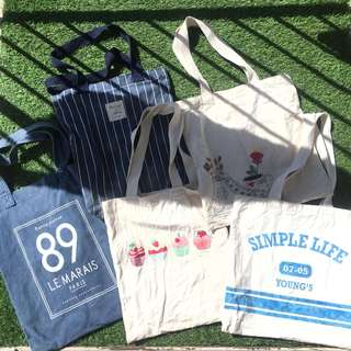 Bargain Canvas Tote Bags