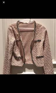 Tweed blazer (Chanel look a like)