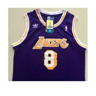 AA NBA Vintage Kobe Adidas Lakers  #8 Kobe Bryant basketball jerseys
