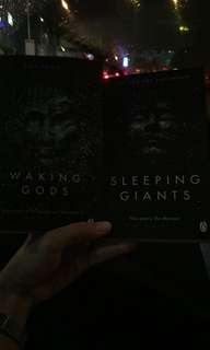 Waking Gods and Sleeping Giants by Sylvain Neuvel