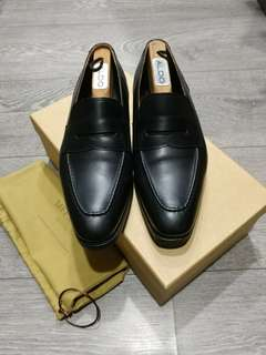 Meermin Black Calf Loafers UK7.5E Worn Once