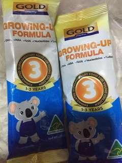 Ntuc gold growing up formula milk