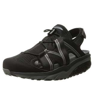 "MBT Jasira 6 Trail Sandal. woman size 7.5"" color black  (open for trade)"