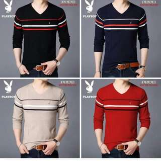 mens long sleeve  (knitted) fit up to L Retail 300