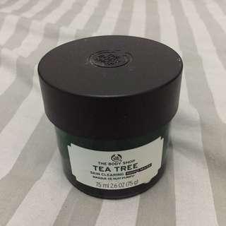 Tea tree skin clearing the body shop sleeping mask