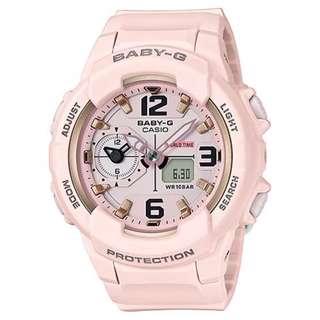 CASIO Baby-G BGA-230 series 粉色 BGA-230SC BabyG BGA230SC