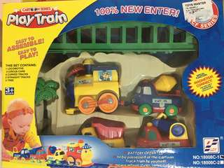 Cartoon Series Play Train Set