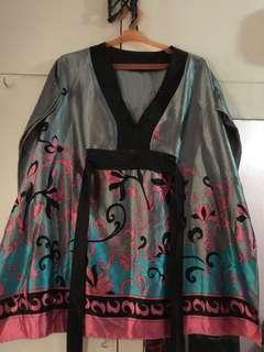 Kimono Style Silk Blouse