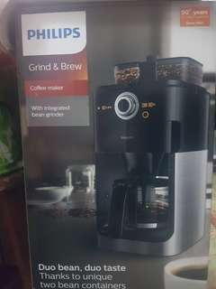 Philips Grind & Brew Coffee Maker