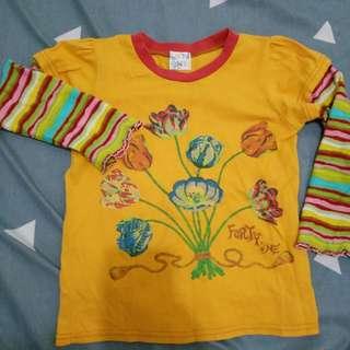 Toddler sweatshirt for 3 to 5