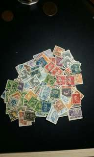 约200隻1920-1950 瑞典郵票