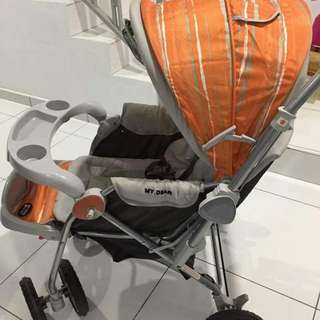 Secondhand baby stroller
