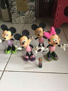Minnie Mouse with detachable Shoes