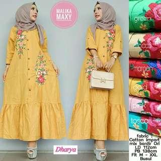 Malika Maxy Dress Cantik