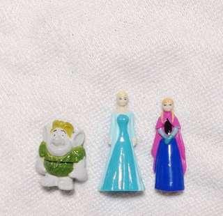 🚚 冰雪奇緣 出奇蛋 公仔 扭蛋 Elsa