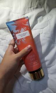 Victoria's Secret coral sky lotion