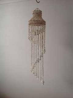 Seashell chandeliers