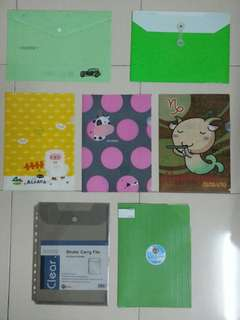 A4 Document Folder/File x 7