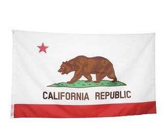 Republic of california flag 3x5