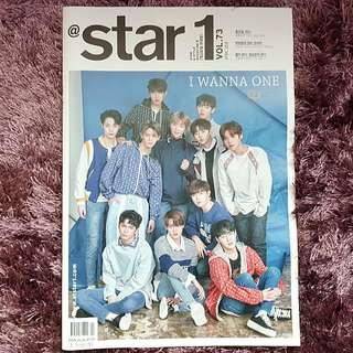 [Ready Stock] Wanna One @star1 April