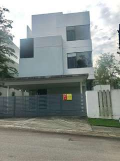 3 STOREY BUNGALOW CORNER LOT TWIN PALMS KEMENSAH