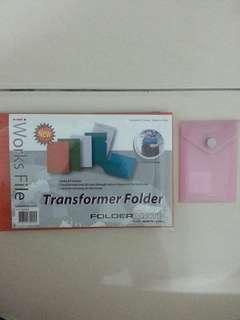 Document Folder/File x 4