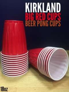 Kirkland Red Cups For Beer Pong
