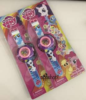 20 images projector watch (pony) - goodies bag, goody bag gift