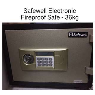 Safewell Electronic Fireproof Safe - 36kg