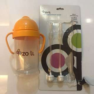 WTS: Zoli XL sippy cup 9oz and 2 new replacement straws