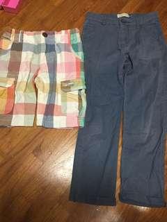 Size 6 shorts n pants for boy