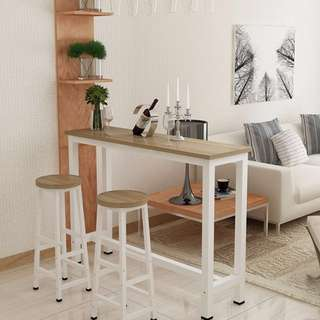 (PO) Simple Bar and Stool Table