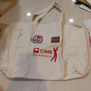 CIMB Classic woven bag