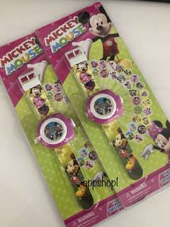 Mickey Mouse projector watch - goodies bag, goody bag packages