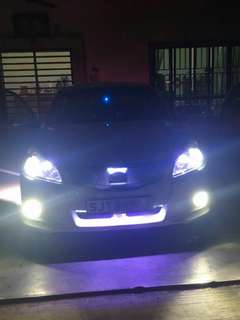 SUBARU LEGACY ON OUR Daytime running lamp Headlight Foglight
